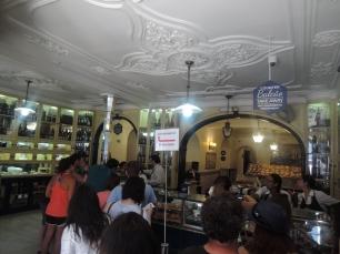 Inside of Pastéis de Belém